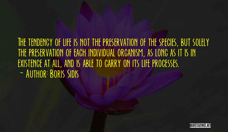 Boris Sidis Quotes 2008280