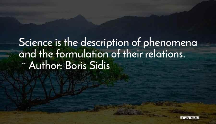 Boris Sidis Quotes 505109