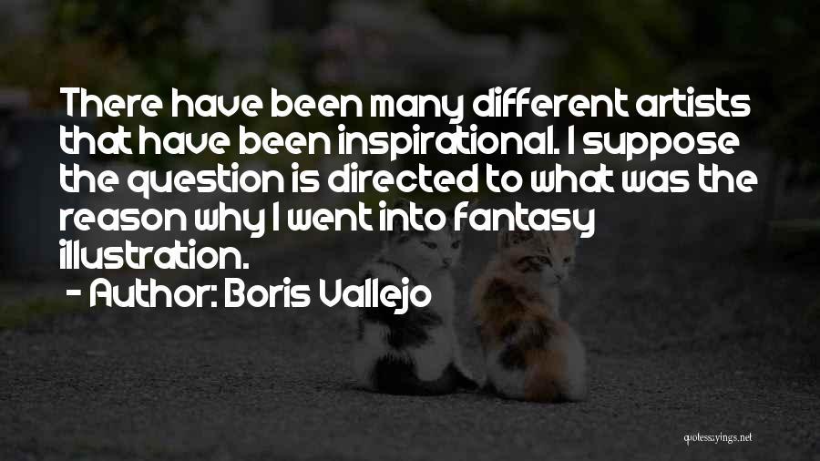 Boris Vallejo Quotes 1976316