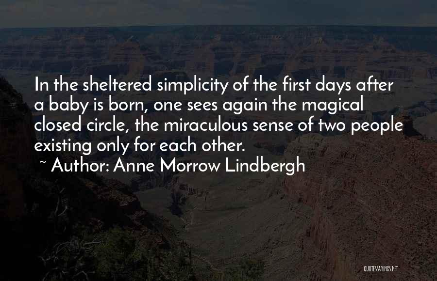 Born For Each Other Quotes By Anne Morrow Lindbergh