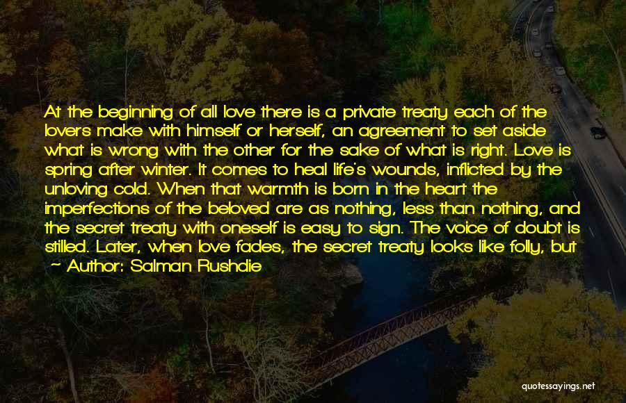 Born For Each Other Quotes By Salman Rushdie