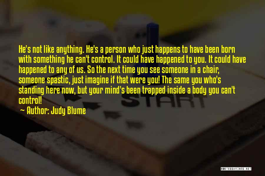 Born Standing Up Quotes By Judy Blume