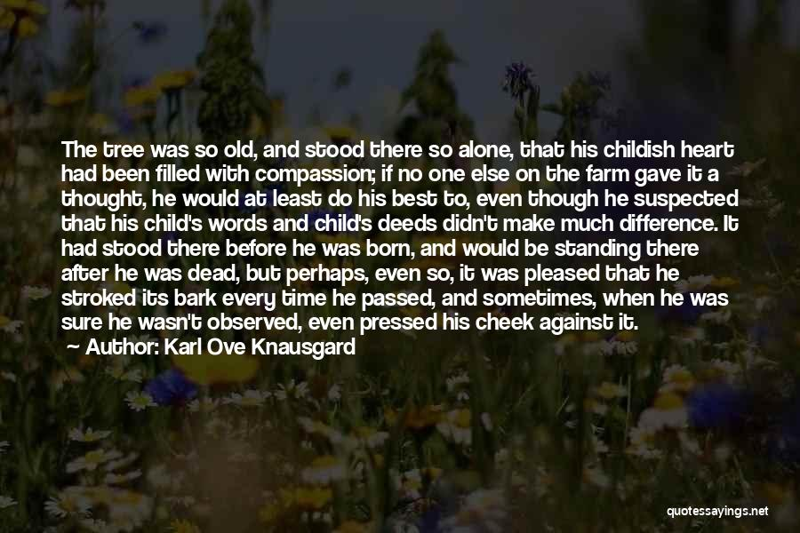 Born Standing Up Quotes By Karl Ove Knausgard