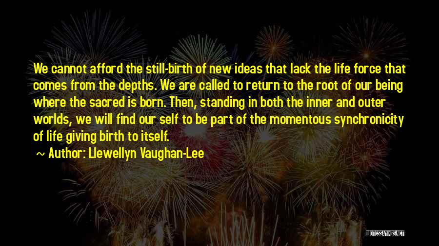 Born Standing Up Quotes By Llewellyn Vaughan-Lee