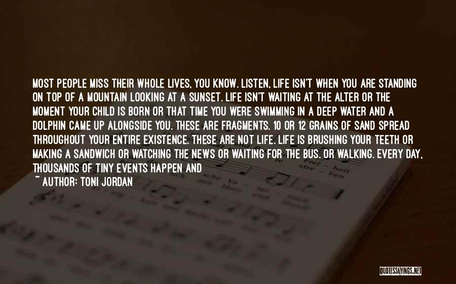 Born Standing Up Quotes By Toni Jordan