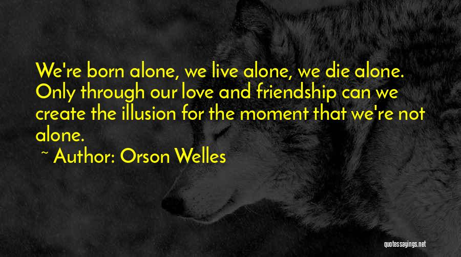 Top 23 Born To Live Alone Quotes Sayings