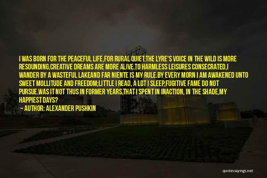 Born To Rule Quotes By Alexander Pushkin