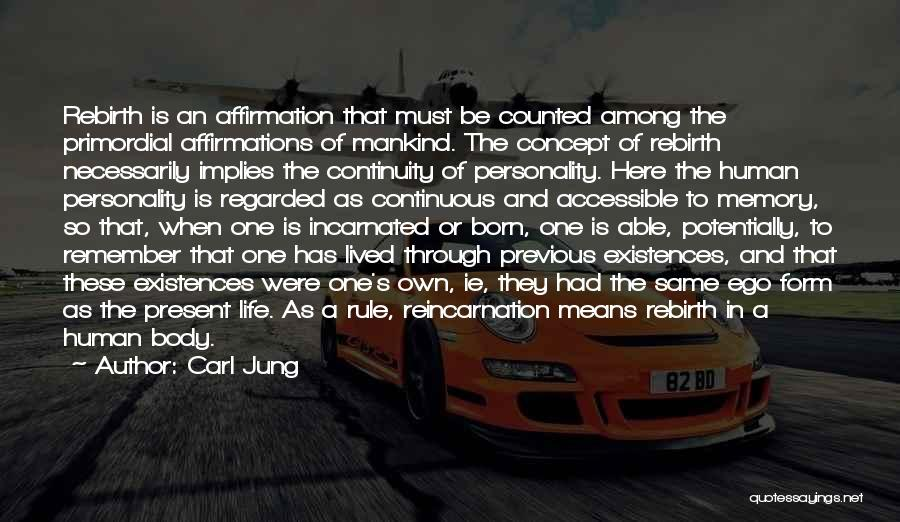 Born To Rule Quotes By Carl Jung