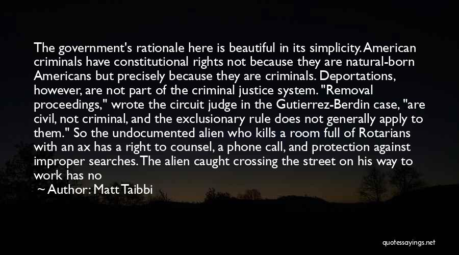 Born To Rule Quotes By Matt Taibbi