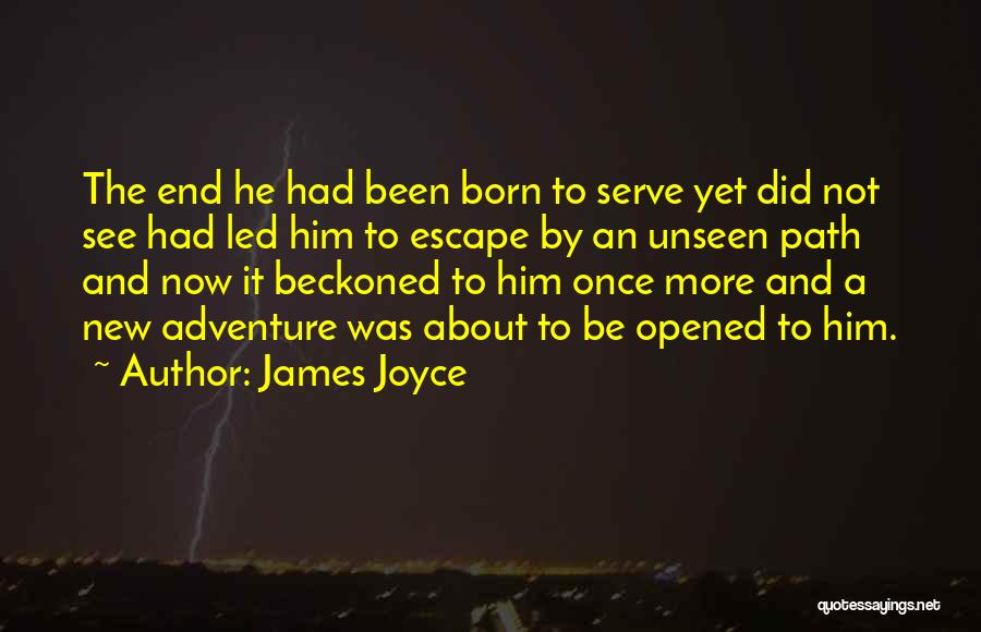 Born To Serve Quotes By James Joyce