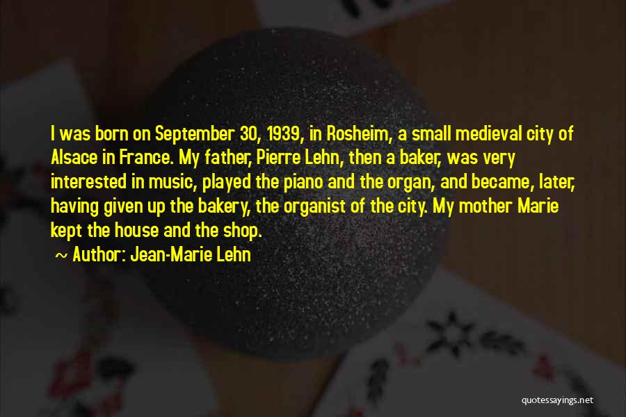 Born To Shop Quotes By Jean-Marie Lehn