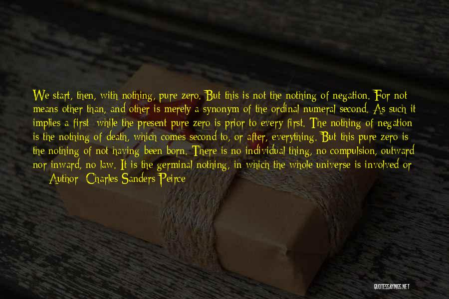 Born With Nothing Quotes By Charles Sanders Peirce