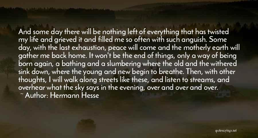Born With Nothing Quotes By Hermann Hesse