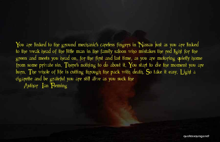 Born With Nothing Quotes By Ian Fleming