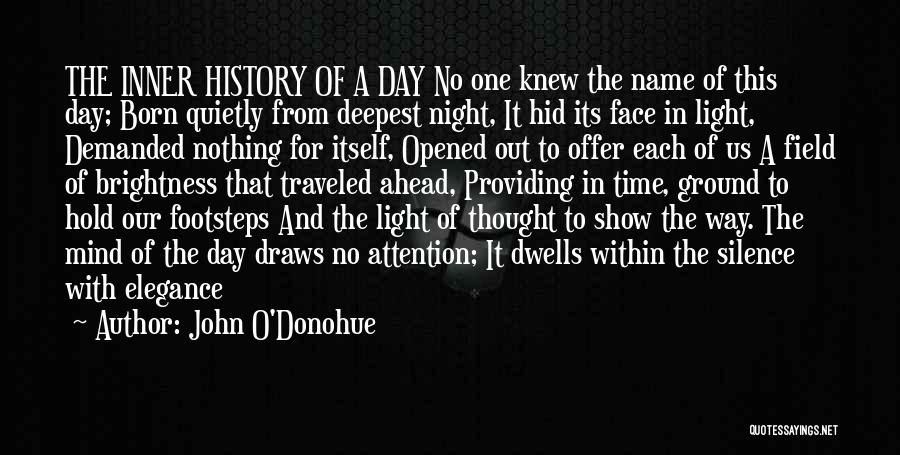 Born With Nothing Quotes By John O'Donohue