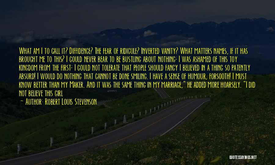 Born With Nothing Quotes By Robert Louis Stevenson