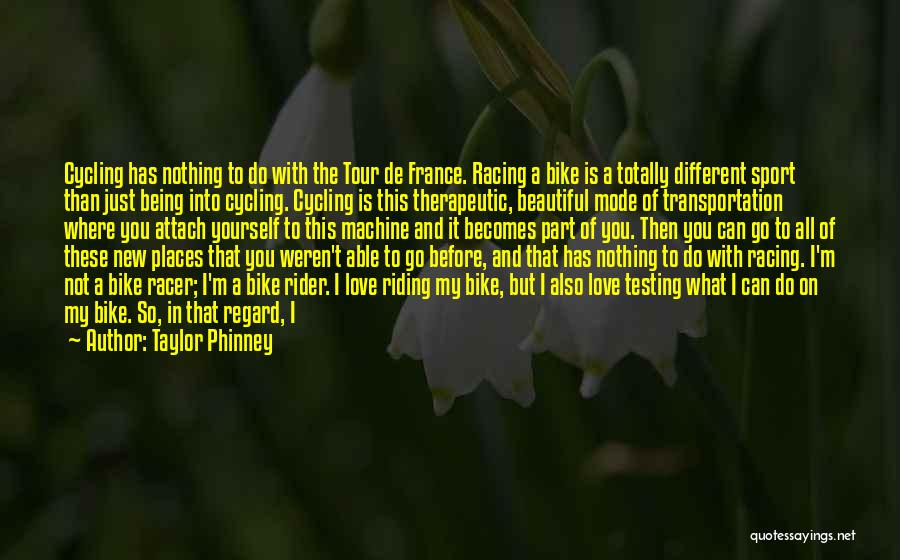 Born With Nothing Quotes By Taylor Phinney