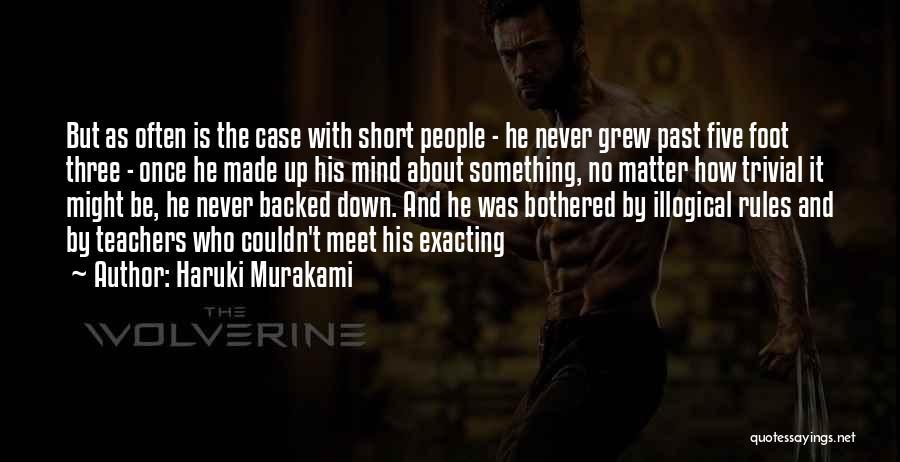 Bothered Mind Quotes By Haruki Murakami