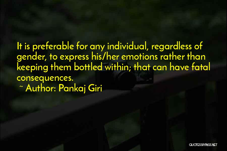 Top 5 Quotes & Sayings About Bottled Up Emotions