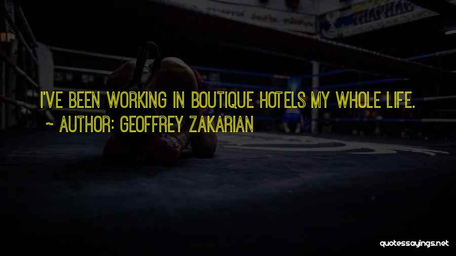 Boutique Quotes By Geoffrey Zakarian