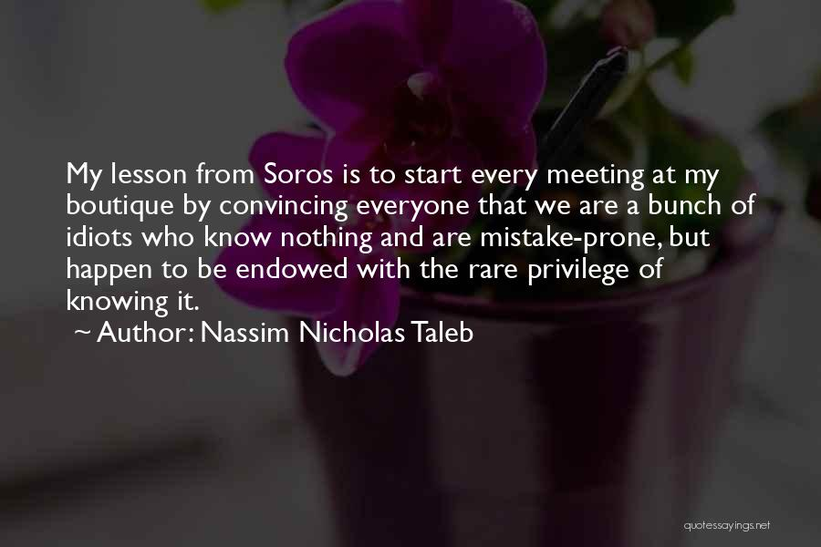 Boutique Quotes By Nassim Nicholas Taleb