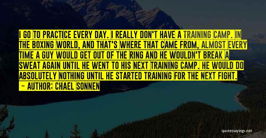 Boxing Fighting Quotes By Chael Sonnen