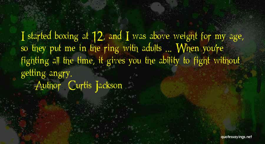 Boxing Fighting Quotes By Curtis Jackson