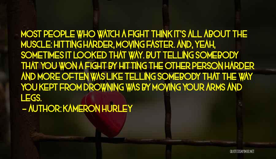 Boxing Fighting Quotes By Kameron Hurley