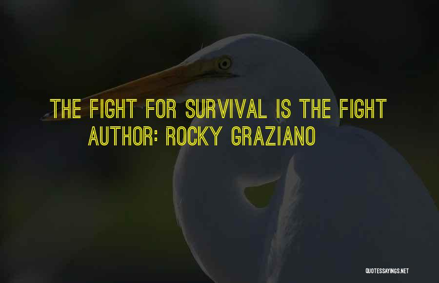Boxing Fighting Quotes By Rocky Graziano