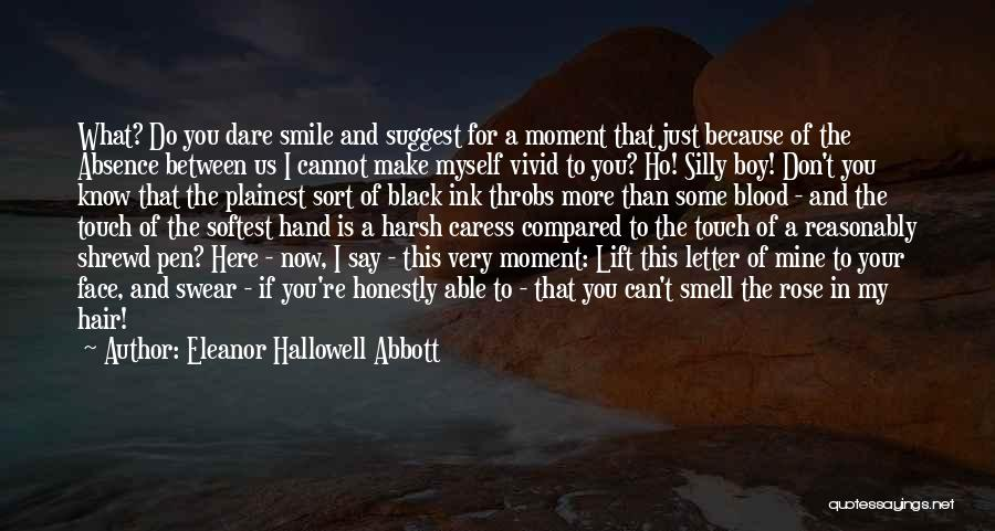 Boy Is Mine Quotes By Eleanor Hallowell Abbott