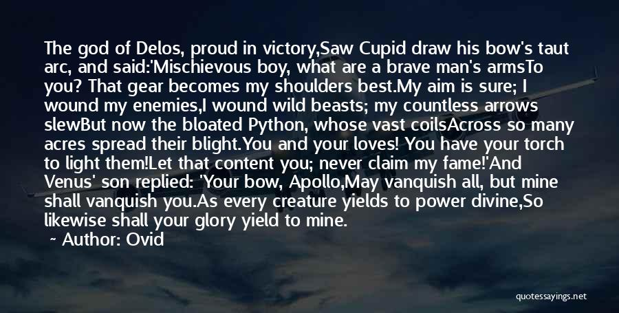 Boy Is Mine Quotes By Ovid