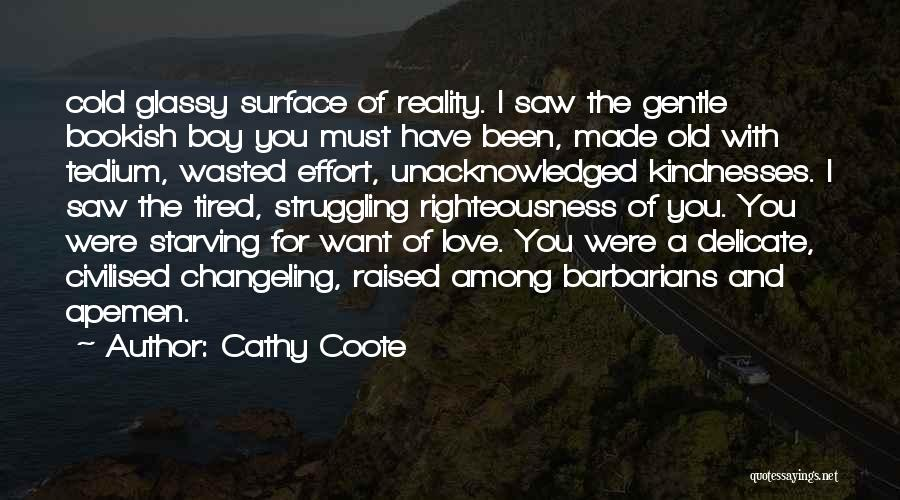 Boy Love Quotes By Cathy Coote