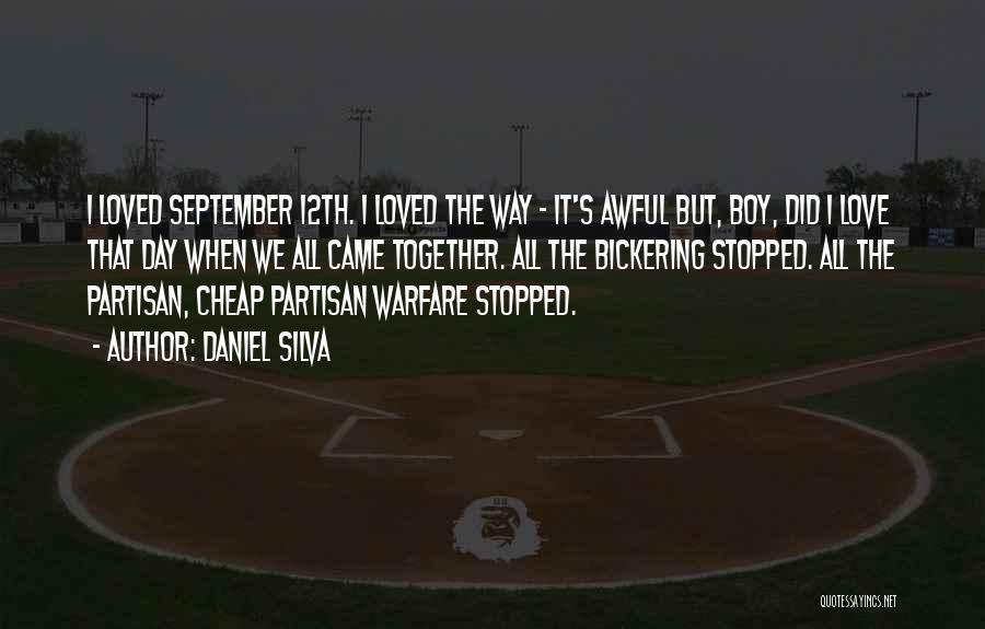 Boy Love Quotes By Daniel Silva