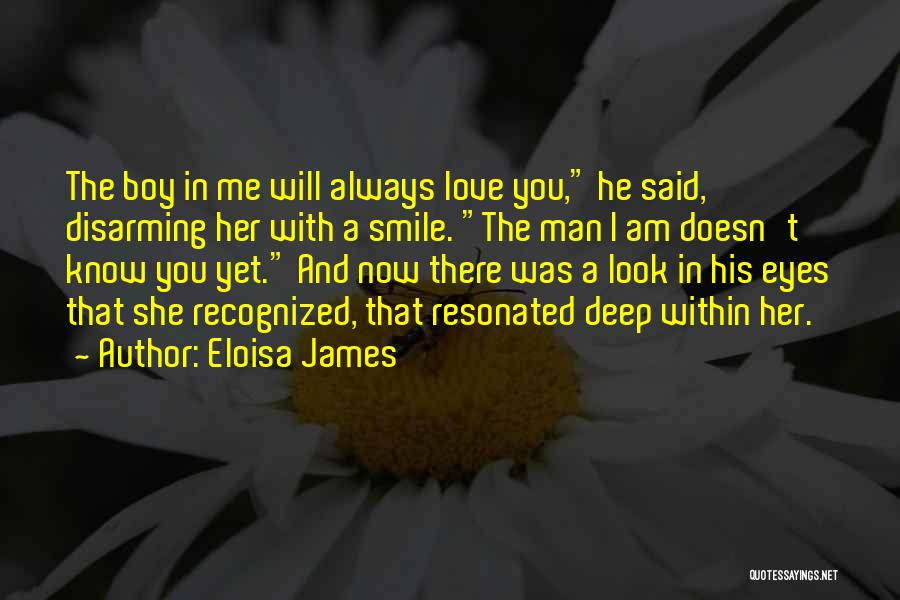 Boy Love Quotes By Eloisa James