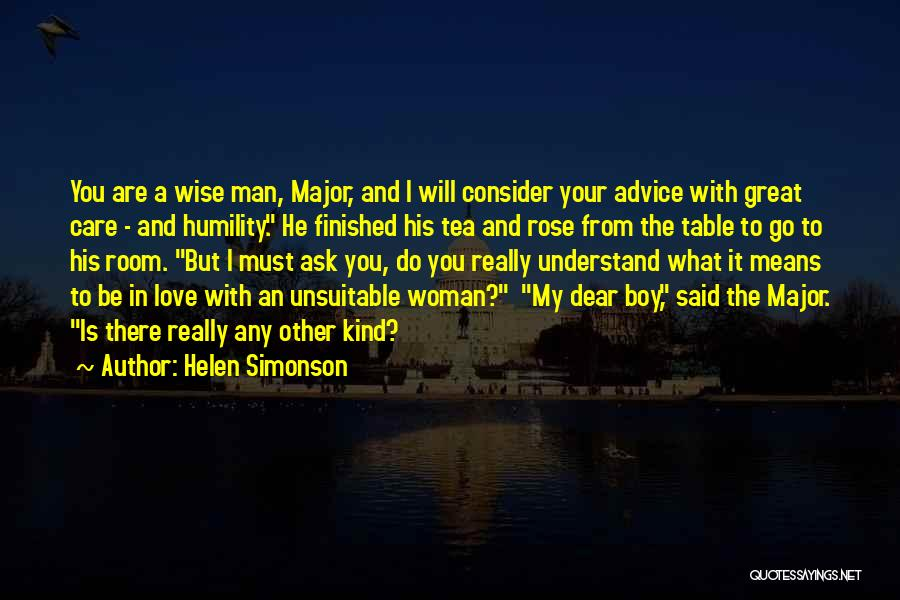 Boy Love Quotes By Helen Simonson