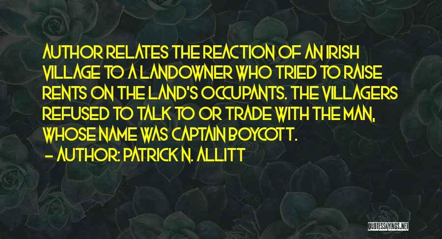 Boycotting Quotes By Patrick N. Allitt