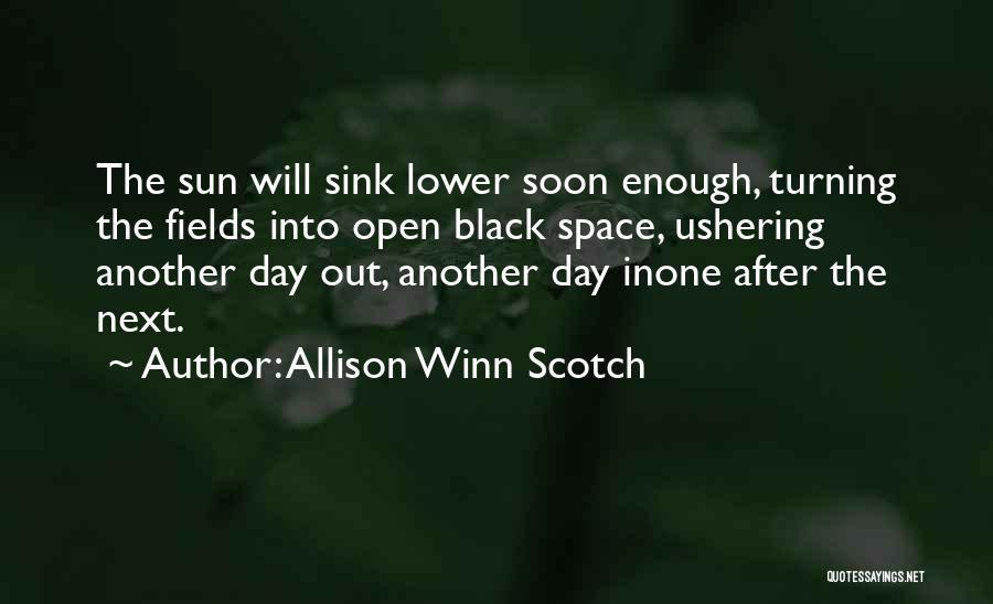 Br Quotes By Allison Winn Scotch