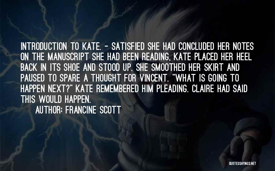 Br Quotes By Francine Scott