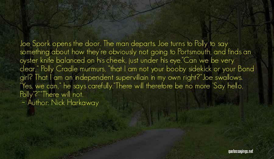 Br Quotes By Nick Harkaway