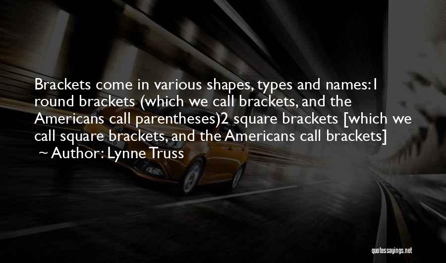 Brackets Parentheses Quotes By Lynne Truss