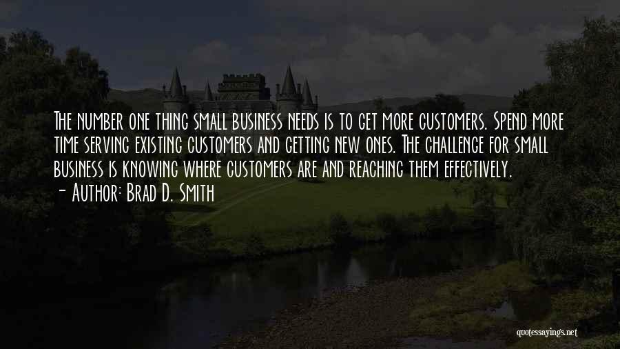 Brad D. Smith Quotes 1077661