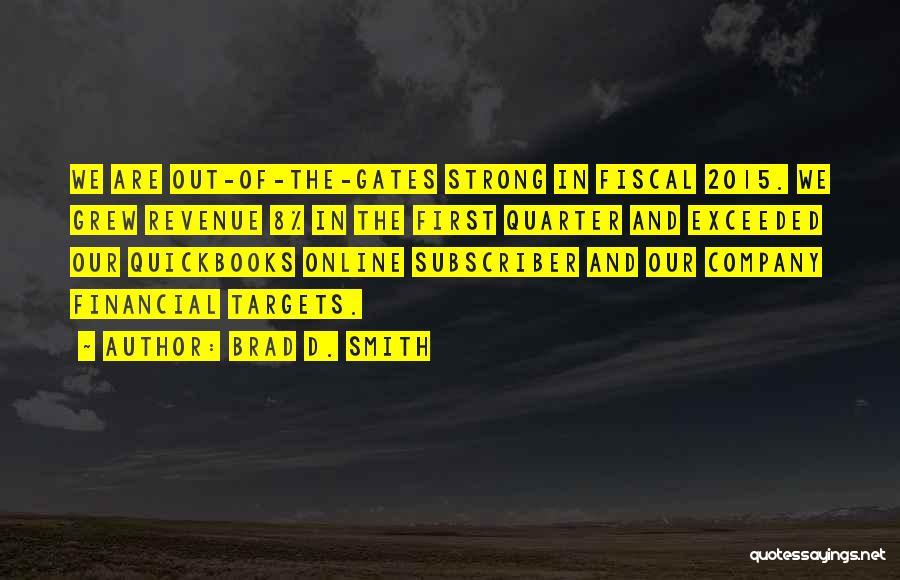 Brad D. Smith Quotes 182352