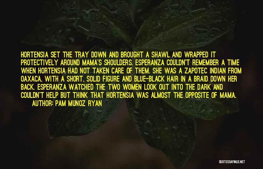 Braid My Hair Quotes By Pam Munoz Ryan
