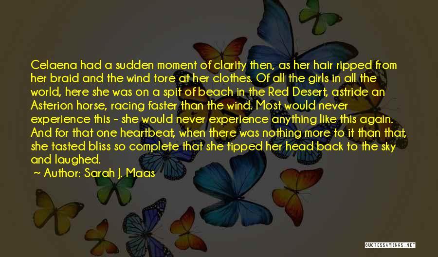 Braid My Hair Quotes By Sarah J. Maas