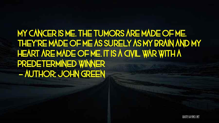 Top 59 Quotes & Sayings About Brain Cancer