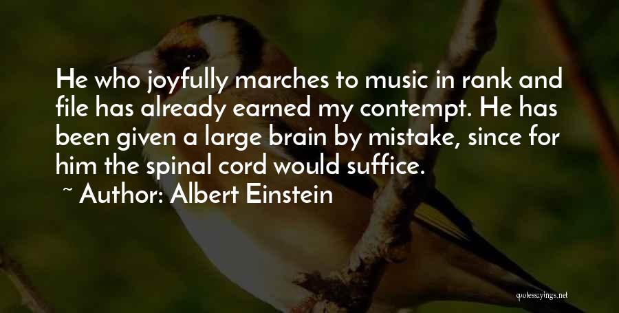Brain Intelligence Quotes By Albert Einstein