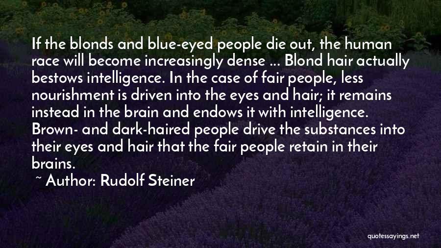 Brain Intelligence Quotes By Rudolf Steiner