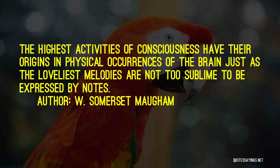Brain Intelligence Quotes By W. Somerset Maugham