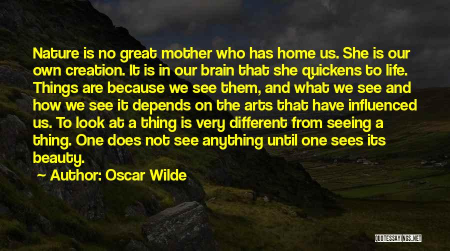 Brain Without Beauty Quotes By Oscar Wilde