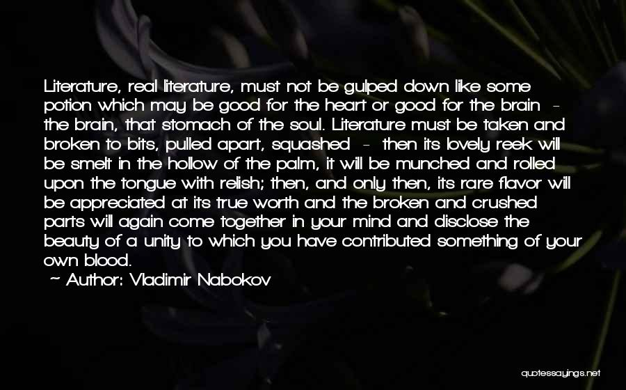 Brain Without Beauty Quotes By Vladimir Nabokov